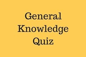 general knowledge quiz questions
