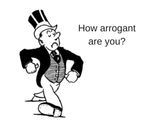 arrogance personality test, how arrogant am i quiz