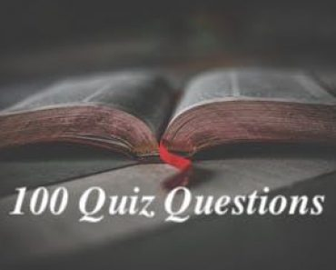 100 Easy Quiz Questions and Answers | General Knowledge at